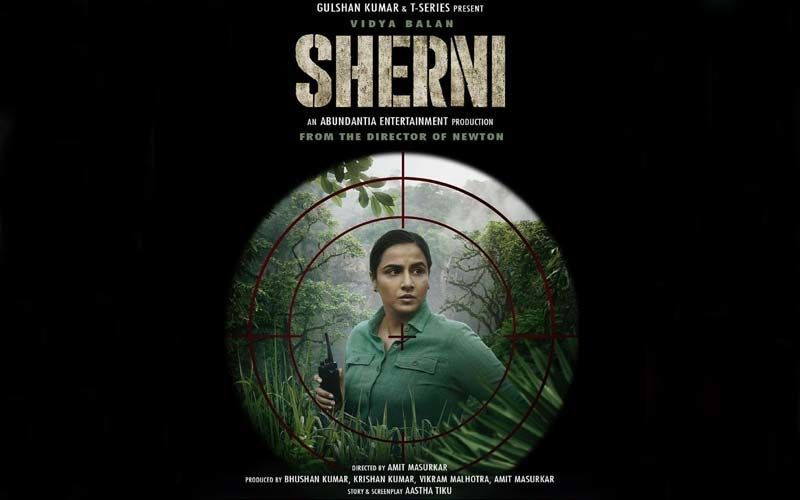 Sherni Teaser OUT: Vidya Balan's Next Depicts Her As A Forest officer; Trailer Out on THIS Date