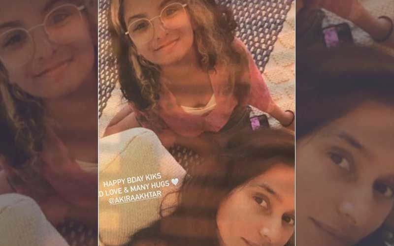 Farhan Akhtar, Girlfriend Shibani Dandekar And Ex-Wife Adhuna Post Adorable B'Day Wishes For Actor's Daughter Akira