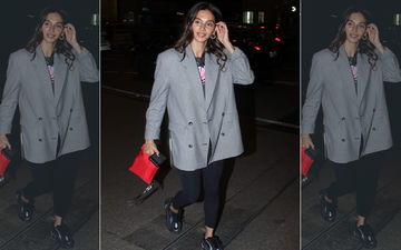 Fashion Culprit Of The Day: Shibani Dandekar Grisly Blurs The Line Between Formal And Casual Wear