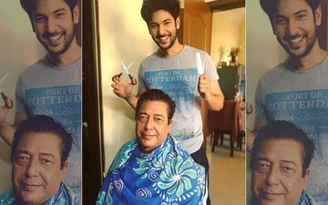 Coronavirus Lockdown: After Shweta Tiwari And Ankita Lokhande, Shivin Narang Dons Barber's Hat For His Father-VIDEO