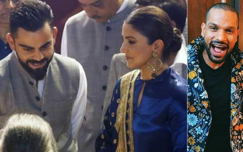 Shikhar Dhawan Mocks Virat Kohli's Taste In Music: Asks 'Shaadi Se Phele Yaa Shaadi Ke Baad?' As Anushka Sharma Laughs Out Loud
