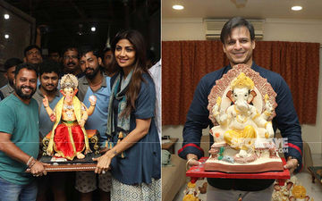 Ganesh Chaturthi 2019: Shilpa Shetty And Vivek Oberoi Welcome Lord Ganesha Home