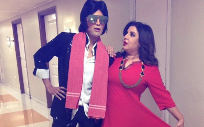 Guess Who Is This Bollywood Beauty Dressed Up As Amitabh Bachchan?