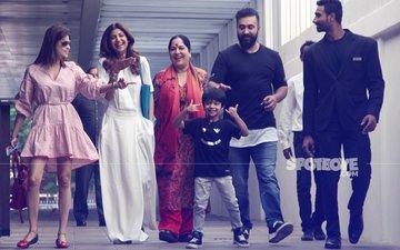 FAMILY TIME: Shilpa Shetty, Raj Kundra & Shamita Shetty Snapped Post Lunch