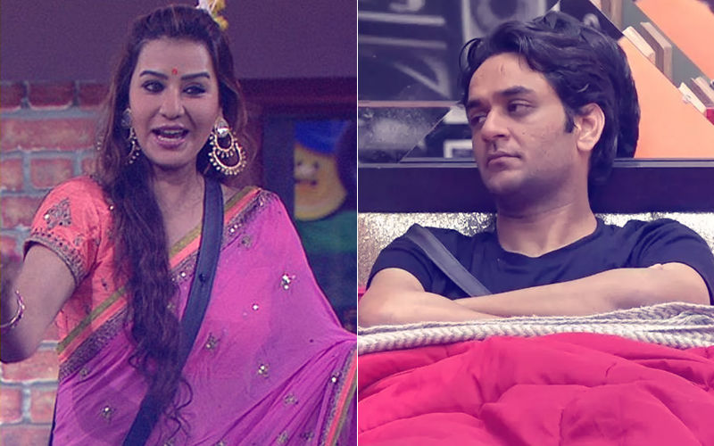 Shilpa Shinde's Epic Reaction On Vikas Gupta Being Bitten By A Snake – Video