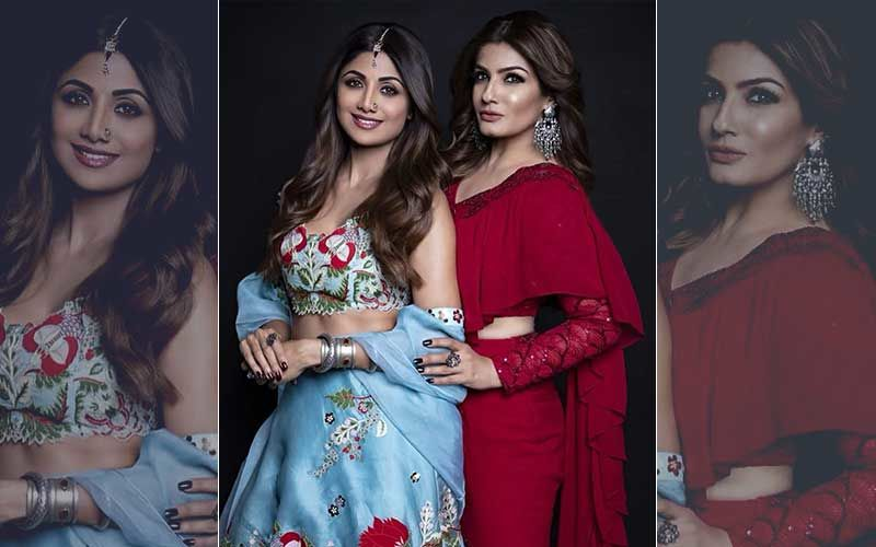 """""""Tu Ab Bhi Bahut Mast Hai,"""" Shilpa Shetty Tells Raveena Tandon"""