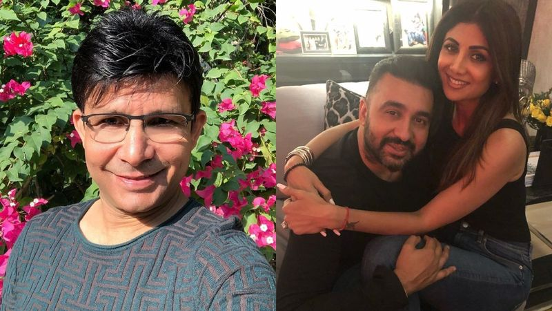 Kamaal R Khan Trolls Raj Kundra For His Tiktok Videos With Wife Shilpa Shetty, Gets A 'Dhobipachad' Reply In Return