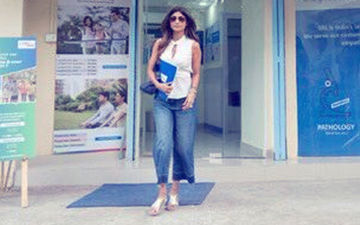 पैथोलॉजी लैब के बाहर नज़र आई शिल्पा शेट्टी, #ShilpaKoKyaHua होने लगा ट्रेंड