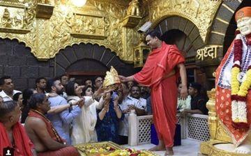 शिल्पा शेट्टी ने शिडी के साईं बाबा को चढ़ाया सोने का मुकुट, कीमत जानकार होश उड़ जाएंगे आपके