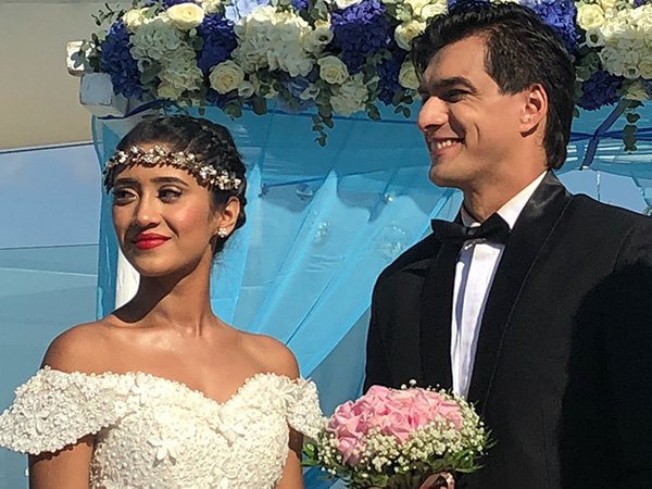 Omg Shivangi Joshi Mohsin Khan Tie The Knot In Greece And the recent wedding track of television's most loved jodis kartik (mohsin khan) and naira (shivangi joshi), was loved by one and all. omg shivangi joshi mohsin khan tie the