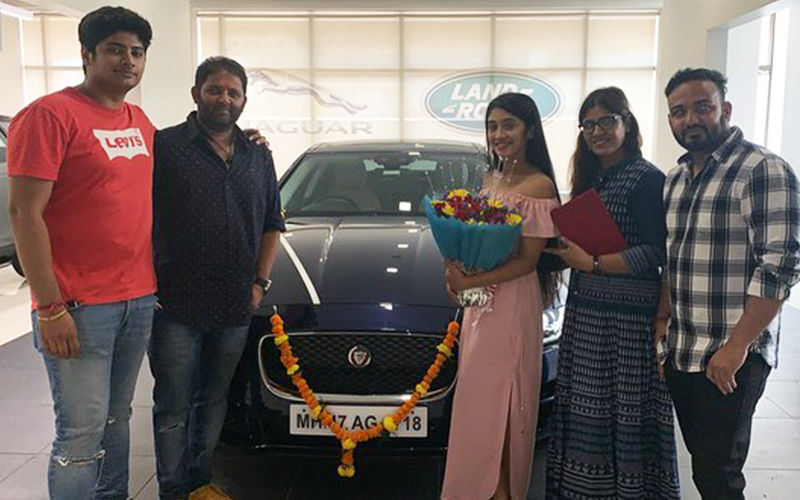 Shivangi Joshi Gifts Herself A Brand New Luxury Car- View Pics