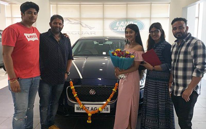 Shivangi Joshi Gifts Herself A Brand New Luxury Car- View Pics