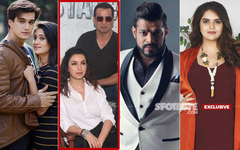 Shivangi Joshi, Mohsin Khan, Karan Patel And Anjali Anand Come Together For Ronit Roy-Tisca Chopra's Hostages