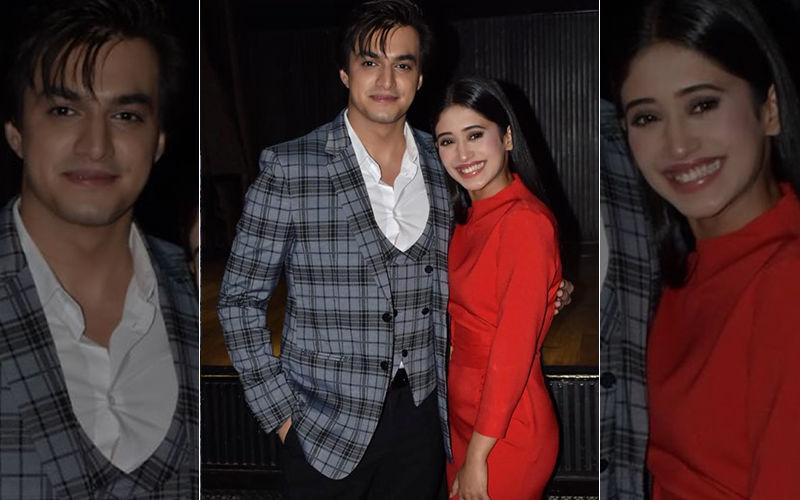 Shivangi Joshi-Mohsin Khan's Uninhibited Romance On Alia Bhatt's Ghar More Paredesiya- Watch Video