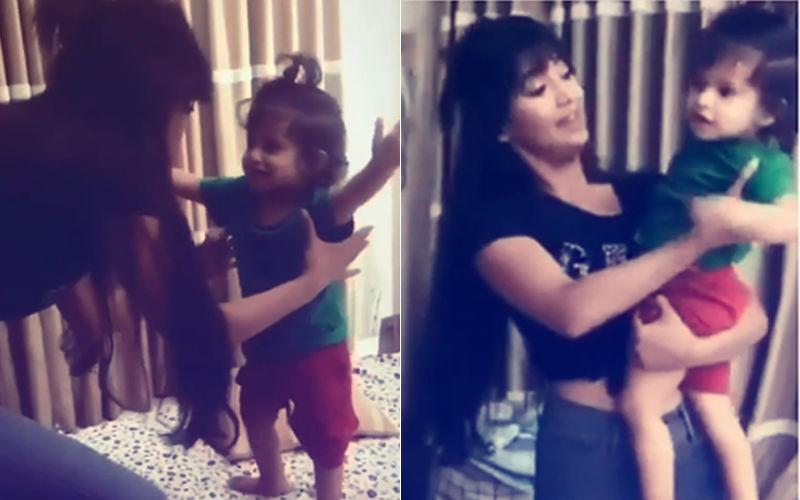 Must Watch: Shivangi Joshi Dances With Shweta Tiwari's Son, Reyansh Kohli