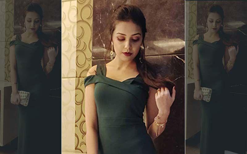 Shivani Rangole In A 'Slytherin' Look As A Jury Of Mata Shravan Queen 2019