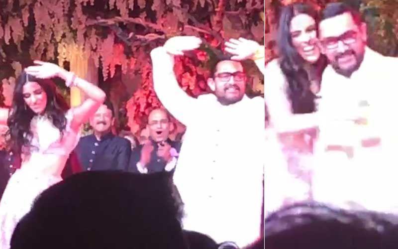 आकाश अंबानी और श्लोका मेहता के प्री-वेडिंग सेलिब्रेशन में स्टेज पर डांस करते दिखे शाहरुख़-आमिर, देखिए वीडियो
