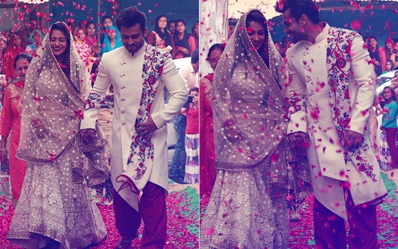 PICS: Dipika Kakar Is Now Faiza Ibrahim; Shoaib's Family Welcomes The Newlyweds in Bhopal