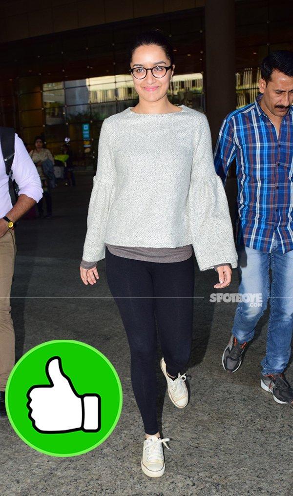 shraddha kapooor at airport