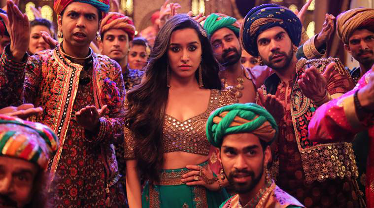 shraddha kapoor and rajkummar rao in the movie stree