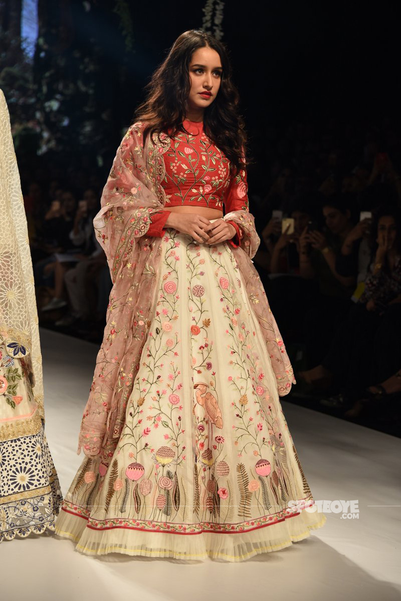 shraddha kapoor at lfw