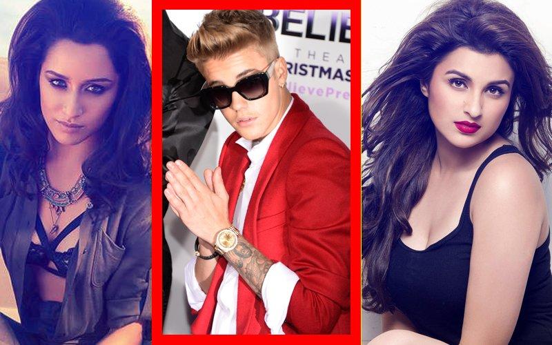 BUZZ: Shraddha Kapoor & Parineeti Chopra Fight For A Slot At The Justin Bieber Concert