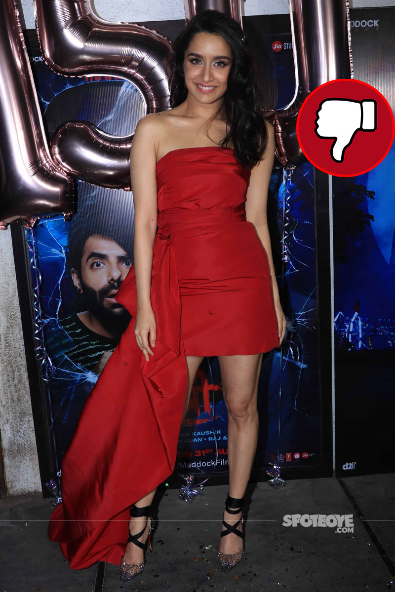 shraddha kapoor snapped at stree success bash