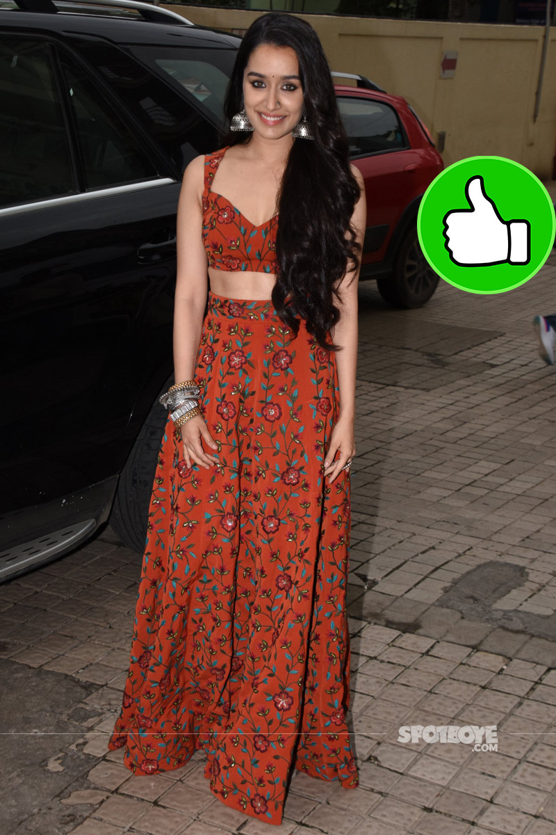shraddha kapoor snapped at the trailer launch of stree