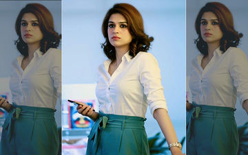 Shraddha Das Rocks The Formal Look Like A Boss, Shares Pic On Instagram