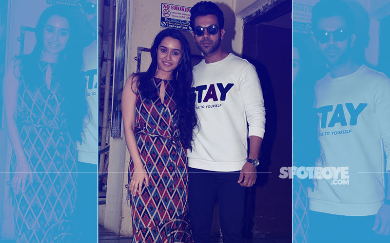 Rajkummar Rao & Shraddha Kapoor Are All Smiles At The Screening Of Thier Film, Stree