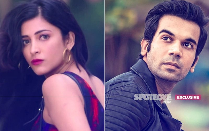 Guess Who Caused A Rift Between Shruti Haasan & Rajkummar Rao?