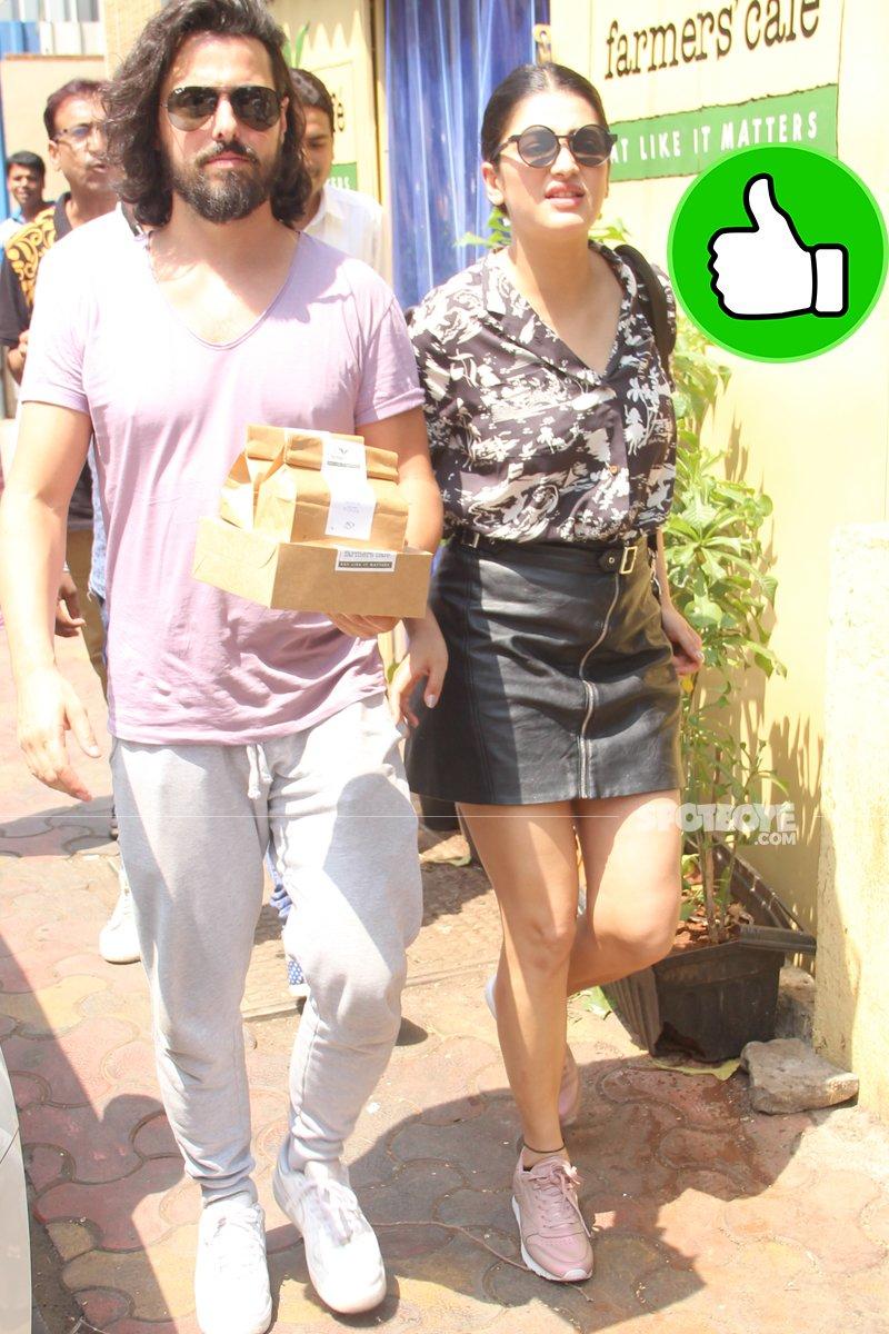 shruti haasan snapped with boyfriend