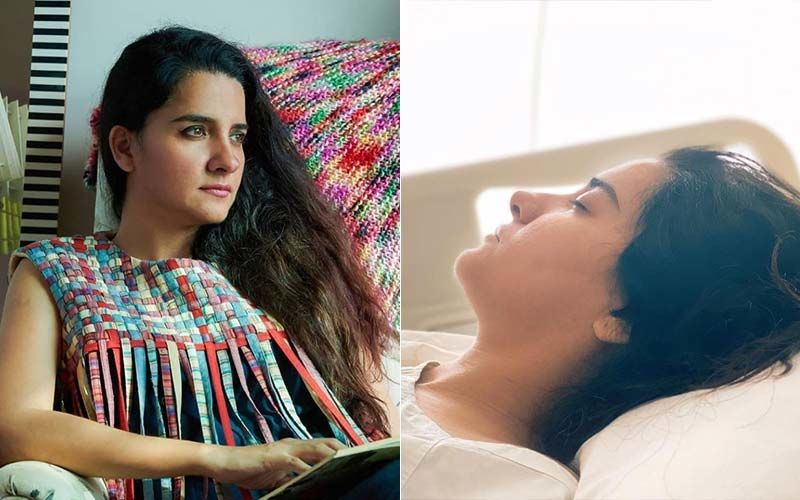 Shruti Seth Undergoes Emergency Surgery, Shares A Picture From The Hospital Saying She Averted A 'Major Health Crisis'