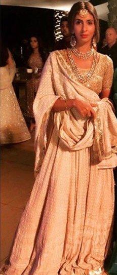 shweta bachchan at mohit marwah wedding