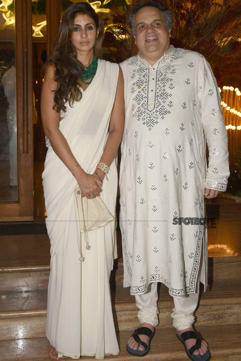 shweta bachchan at sandeep khosla s niece s sangeet