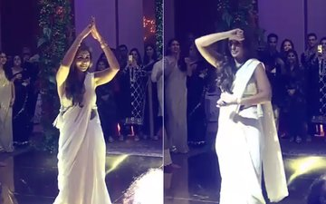 Watch Big B's Shy Daughter Shweta Bachchan Dance For The First Time