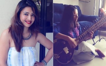 Shweta Basu Prasad Celebrates Independence Day By Playing National Anthem On Sitar