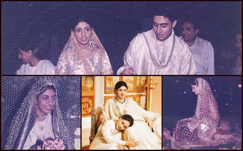 These Unseen Pictures Of Shweta Bachchan Nanda From Her Wedding In 1997 Will Remind You Of Her Daughter Navya