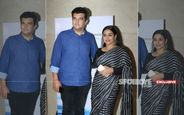 Shy Vidya Balan Gets Dragged To Dance Floor By Her Husband Siddharth Roy Kapur- EXCLUSIVE