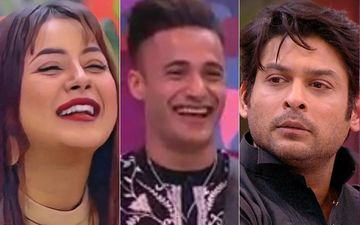 Bigg Boss 13: Shehnaaz Gill Kisses Asim Riaz To Spite Sidharth Shukla, Leaves Riaz Blushing – VIDEO