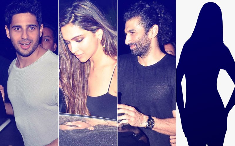 Guess Which Actress Joined Bollywood's New SATURDAY NIGHT GANG - Deepika, Sidharth & Aditya Yesterday?
