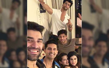 Bigg Boss 13 Winner Sidharth Shukla Parties Hard With Kushal Tandon; Sends Best Wishes For His New Restaurant