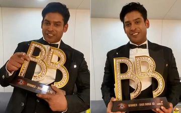 Bigg Boss 13: Sidharth Shukla Thanks Fans After Winning The Show In New Video: 'The Trophy Has Come Home'