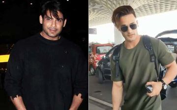 Sidharth Shukla- Asim Riaz Airport Face-Off: Sid Gets Mobbed By Crazy Fans While Asim Gets A Thanda Reception