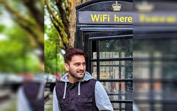 Catch Siddharth Chandekar's Monsoon Throwback To London During Jhimma Shoot