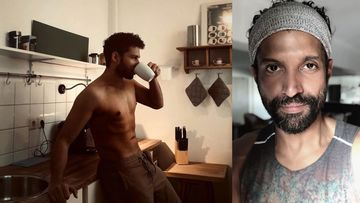 MC Sher Siddhant Chaturvedi Poses A Yummy Shirtless Pic; Farhan Akhtar Approves, Says 'Looking Fit Brother'