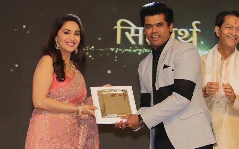 Siddharth Jadhav Receives Mazha Sanman, Shares Photo On Instagram