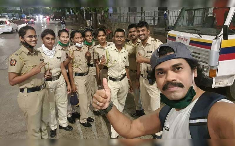 Siddharth Jadhav Expresses Gratitude Towards The Real Heroes Of Lockdown - The Police Force