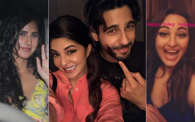 Sidharth Malhotra Birthday Bash: Katrina Kaif, Jacqueline Fernandez, Sonakshi Sinha Let Their Hair Down- Inside Pictures And Videos