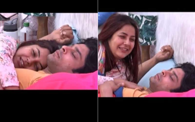 Bigg Boss 13's Shehnaaz Gill and Sidharth Shukla's Throwback Video Of Former Cuddling And Convincing Shukla Is All Sort Adorbs